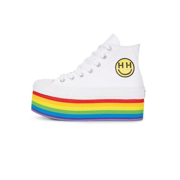 242a0e99b8ffd2 Converse PRIDE x Miley Cyrus Chuck Taylor Shoes